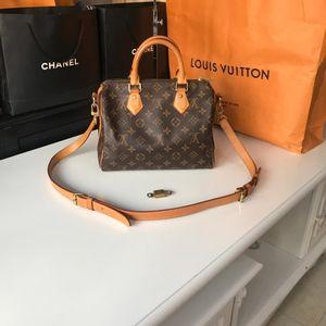Louis Vuitton 路易·威登老花speedy25手提包