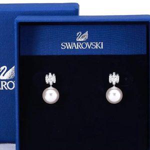 SWAROVSKI 施华洛世奇珍珠耳环