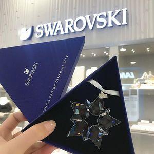 SWAROVSKI 施华洛世奇2019新款水晶雪花挂件汽车挂饰车内摆件