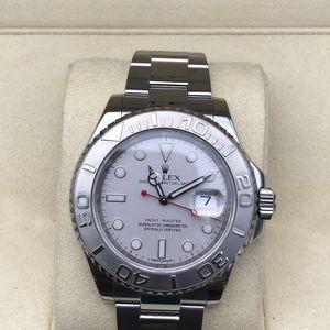 Rolex 劳力士银盘自动机械男士腕表
