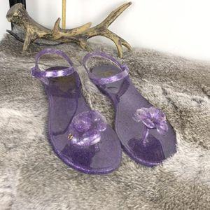 CHANEL 香奈儿果冻凉鞋