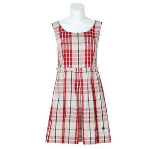 Burberry 博柏利棉质格纹无袖学院风连衣裙