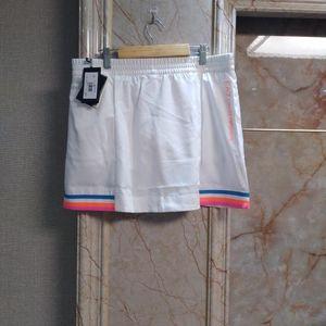 Emporio Armani 安普里奥·阿玛尼白色运动短裙