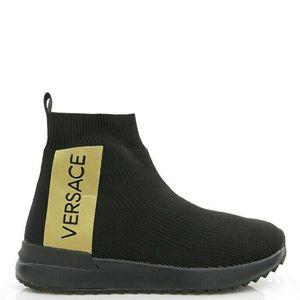 Versace Jeans 范思哲高帮休闲袜子鞋