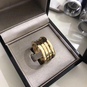 BVLGARI 宝格丽黄金弹簧戒指
