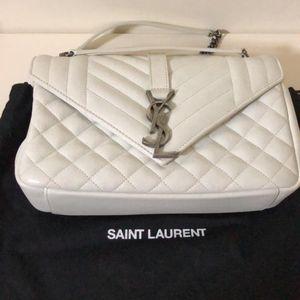 Yves Saint Laurent 伊夫·圣罗兰经典邮差单肩包