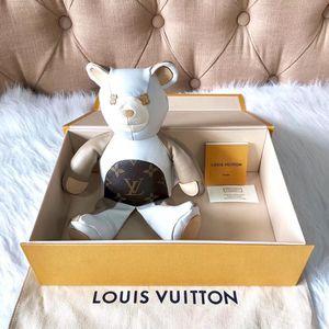 Louis Vuitton 路易·威登小熊玩偶