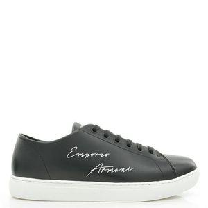 Emporio Armani 安普里奥·阿玛尼男士真皮低帮休闲板鞋