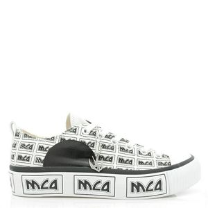 Alexander McQueen 亚历山大·麦昆燕子男士帆布休闲鞋板鞋