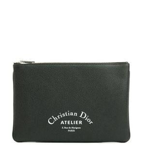 Dior 迪奥 男女款真皮手拿包