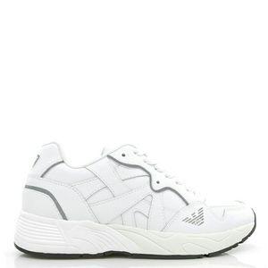 Emporio Armani 安普里奥·阿玛尼男士真皮老爹鞋休闲鞋