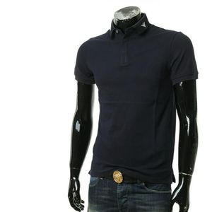 Emporio Armani 安普里奥·阿玛尼男士鹰标修身短袖POLO衫