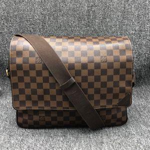 Louis Vuitton 路易·威登棕色棋盘男士公文包