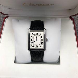 Cartier 卡地亚坦克系列女士腕表