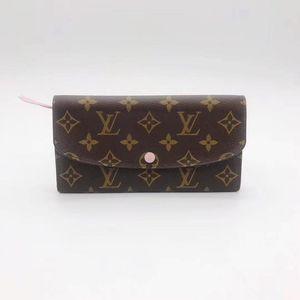 Louis Vuitton 路易·威登粉豆豆钱包