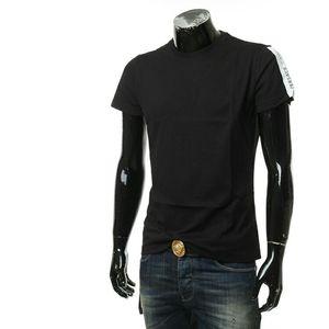 Versace Jeans 范思哲男士休闲纯色短袖T恤