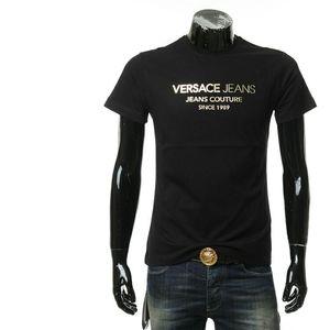 Versace Jeans 范思哲男士金字母短袖T恤