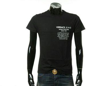 Versace Jeans 范思哲男士短袖圆领T恤
