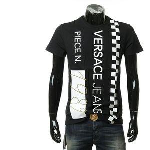 Versace Jeans 范思哲男士圆领短袖T恤