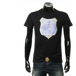 Versace Jeans 范思哲男士休闲圆领短袖T恤