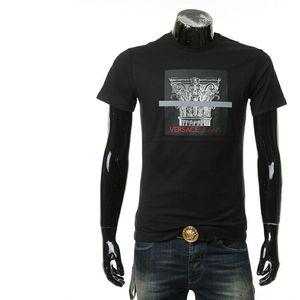 Versace Jeans 范思哲罗马柱头图案短袖T恤