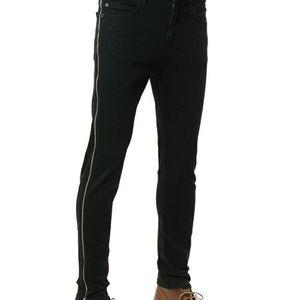 Alexander McQueen 亚历山大·麦昆拉链休闲裤