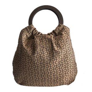 Celine 赛琳logo圆环购物袋手提包
