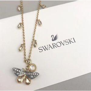 SWAROVSKI 施华洛世奇蝴蝶秘境水晶项链