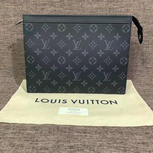 Louis Vuitton 路易·威登经典款黑花手包