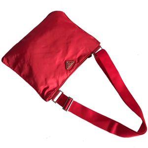 PRADA 普拉达男女降落伞单肩斜背包