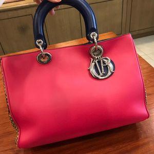 Dior 迪奥子母限量款戴妃手提包