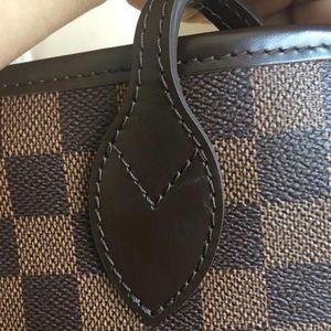 Louis Vuitton 路易·威登neverfull中号棋盘格手提包