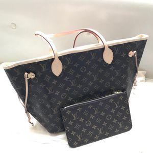 Louis Vuitton 路易·威登NF老花中号子母购物袋手提包