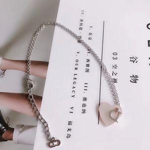 Dior 迪奥粉色贝母项链
