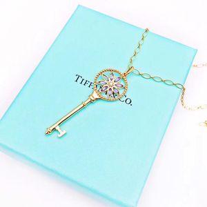 Tiffany & Co. 蒂芙尼 蜻蜓吊坠锁骨项链