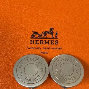 Hermès 爱马仕圆形耳夹
