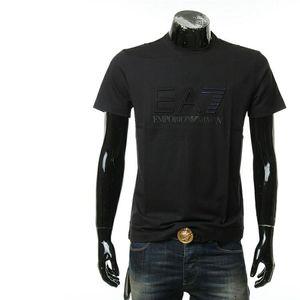 Emporio Armani 阿玛尼字母休闲圆领短袖T恤