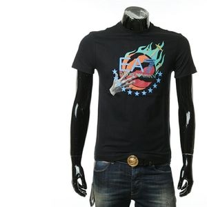 Emporio Armani 安普里奥·阿玛尼男士印花短袖T恤圆领上衣