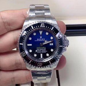 Rolex 劳力士渐变蓝鬼自动机械手表