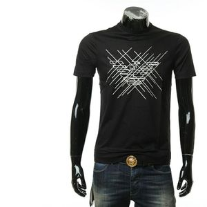 Emporio Armani 阿玛尼男士休闲短袖圆领T恤
