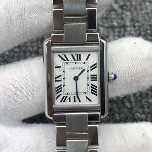 Cartier 卡地亚坦克系列女士石英手表