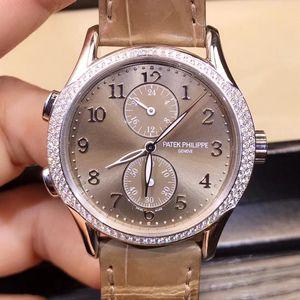 PATEK PHILIPPE 百达翡丽7134g灰面自动机械手表
