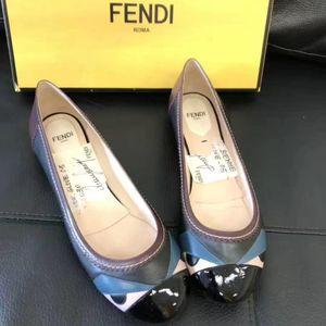 FENDI 芬迪女款眼睛单鞋37