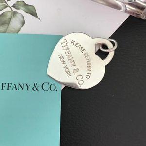 Tiffany & Co. 蒂芙尼超大爱心吊坠
