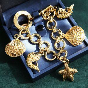 Celine 赛琳XL08139海星海螺贝壳手链