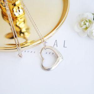 Tiffany & Co. 蒂芙尼XL08107peretti系列心形吊坠项链