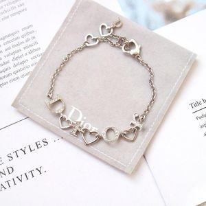 Dior 迪奥字母水钻手链