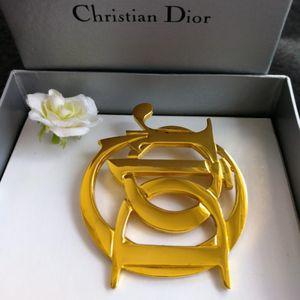 Dior 迪奥XL12003字母大logo胸针