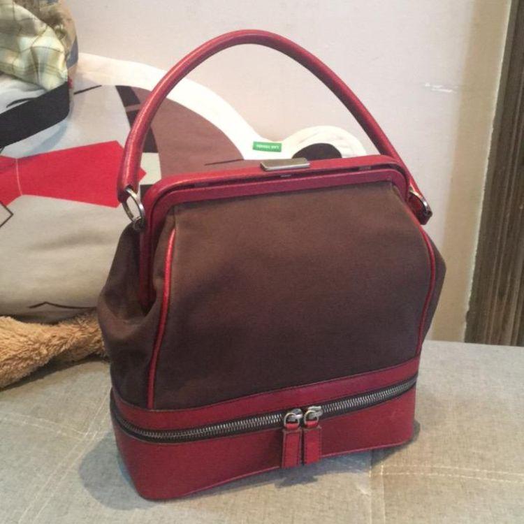 new product 72775 fa250 PRADA 普拉达中古vintage口金包蛙口包手提包手拎包-心上共享平台