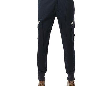 Emporio Armani 安普里奥·阿玛尼男士拉链裤脚休闲裤长裤